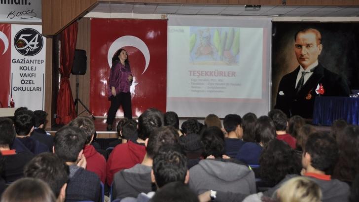 GKV'de yeni nesil meslek seçimi paneli düzenlendi