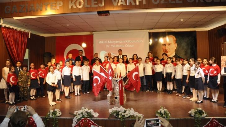 GKV'de İstiklal Marşı Oratoryosu sahnelendi