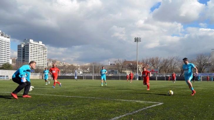 MST iş makinaları kamu futbol turnuvası düzenlendi