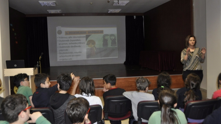 "GKV'de ""Akran Zorbalığı"" semineri"