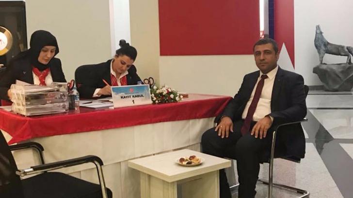 Taşdoğan adaylık başvurusunu yaptı