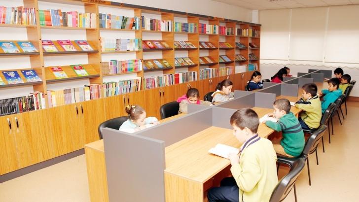 Nitelikli kütüphaneler öğrencilerin geleceğine ışık tutuyor