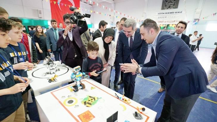Erdem Koleji'nde Bilim, Kültür ve Sanat Fuarı