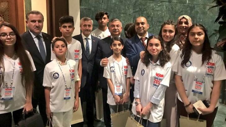 Bakanlar'dan hayalimdeki Türkiye projesine destek