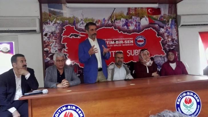 SAADET PARTİSİ ADAYLARI MEMUR SEN'İ ZİYARET ETTİLER