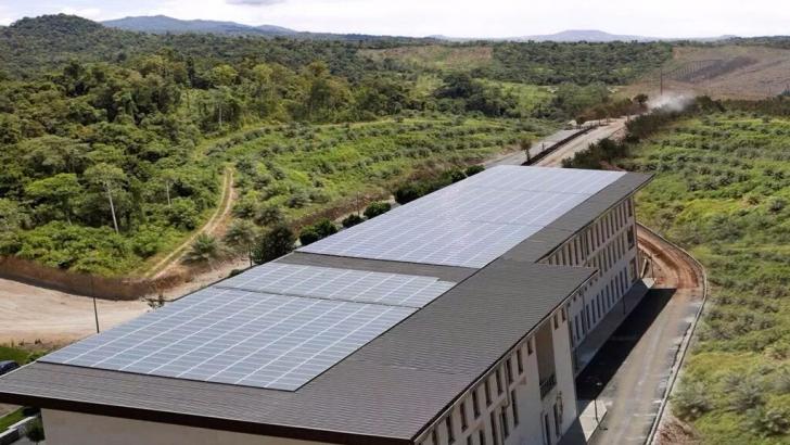 HKÜ tüm elektrik ihtiyacını güneşten karşılıyor