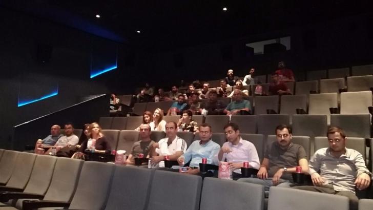 Hükümlülere sinema etkinliği