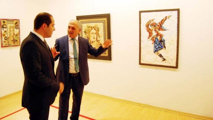 Mehmet Yılmaz'ın mozaik sergisi 21 Eylül'e kadar sürecek
