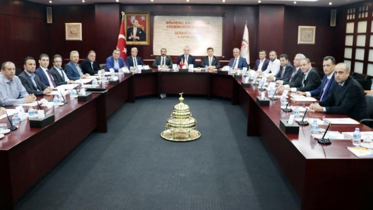 Bölgesel Kalkınmada Güç Birliği Platformu toplandı