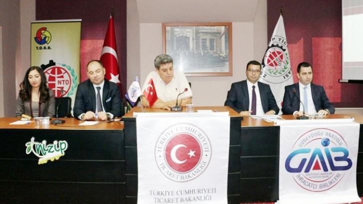 NTO'da Dış Ticaret semineri düzenlendi