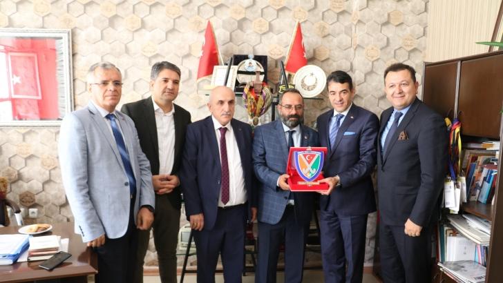 Başkan Karakan'dan GBC'ye destek teşekkürü