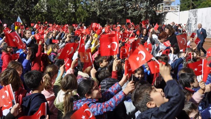 GKV'liler Cumhuriyet'in 95. Yılı İçin Yürüdü