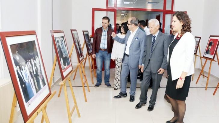 """""""Atatürk"""" temalı sergi GAÜN'de açıldı"""