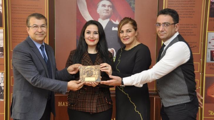 GKV'li öğretmene en iyi kadın oyuncu ödülü