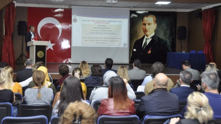 GKV'de LGS bilgilendirme toplantısı yapıldı