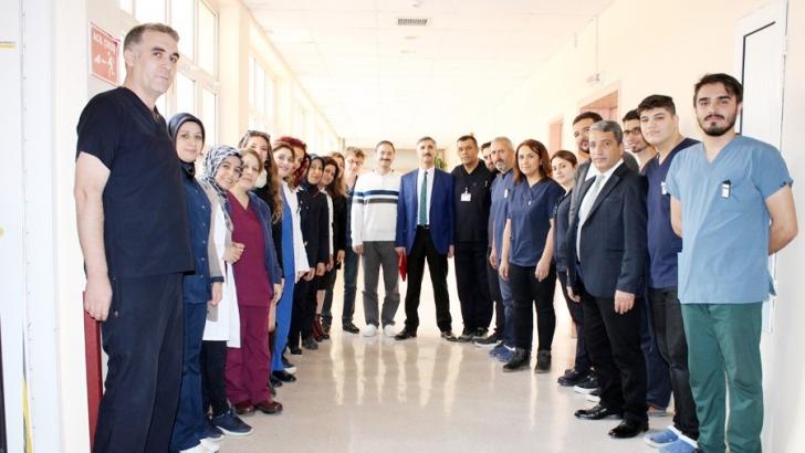 "GAÜN Hastanesi'nde ""Dünya Radyoloji Günü"" kutlandı"