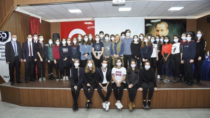 Cemil Alevli Koleji lösemili çocukları unutmadı