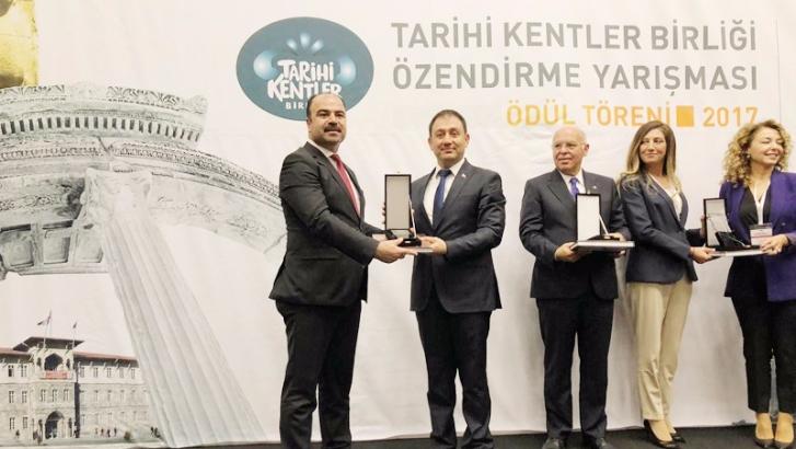 Şahinbey Belediyesi'ne ödül