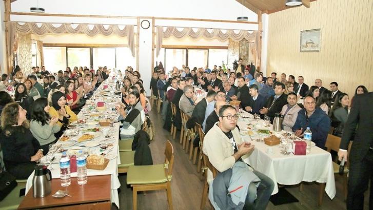 Şehitkamil'deki öğretmenler kahvaltıda buluştu