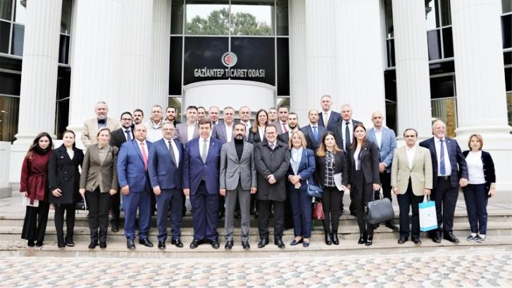 KIBRIS TÜRK TİCARET ODASI'NDA GTO'YA ZİYARET