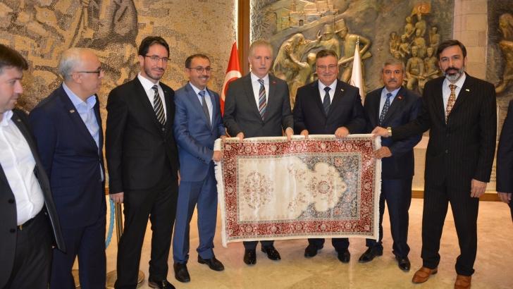 Halı sektörü Gaziantep'te 40 bin kişiyi istihdam ediyor