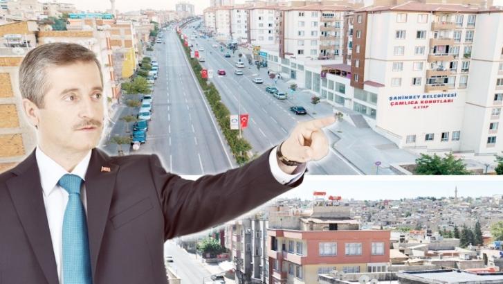 Şahinbey kentsel dönüşümle güzelleşiyor