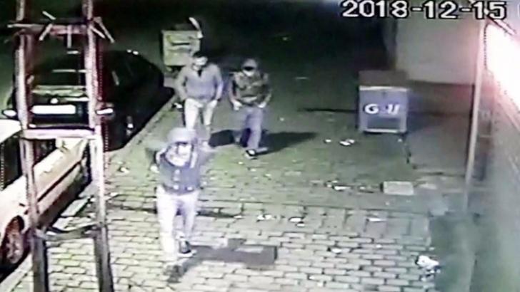 Hırsızlar kameralara yakalandı