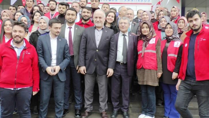 Kızılay Gaziantep Şube Başkanı yeniden Nihat Yıldırım oldu