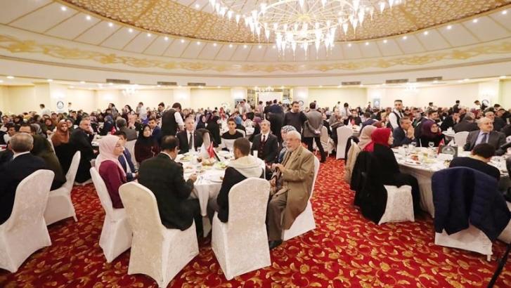 Şahinbey'de Umre'den gelen öğrenciler yemekte buluştu