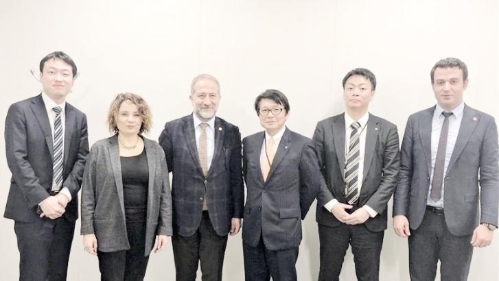 Gaziantep gıda sektörü Japonya'da incelemelerde bulundu