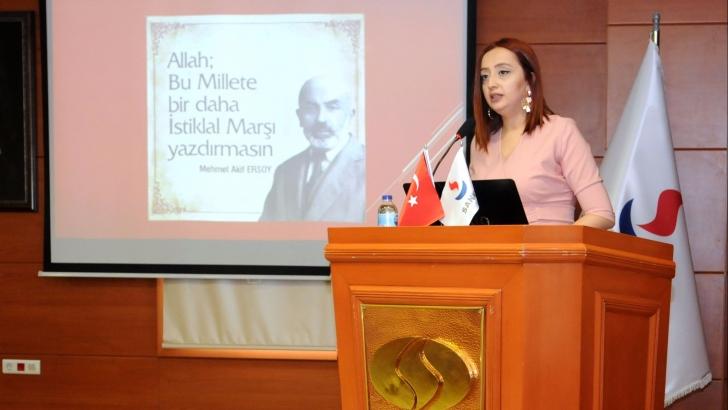 """SANKO ÜNİVERSİTESİ'NDE """"MİLLETİN SESİ MEHMET AKİF"""" KONULU TÖREN DÜZENLENDİ"""