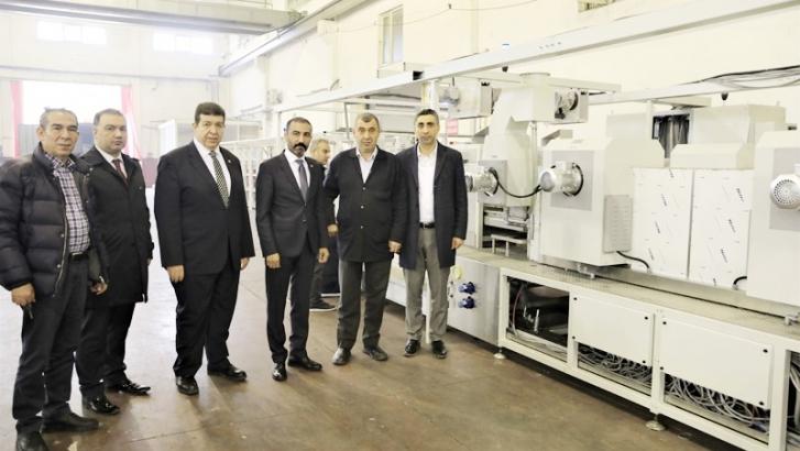 Gaziantep'in katma değer üretimine örnek: ÖRNEK MAKİNE