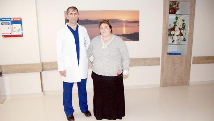 Obezite cerrahisi ile kilolarından kurtulmaya başladı