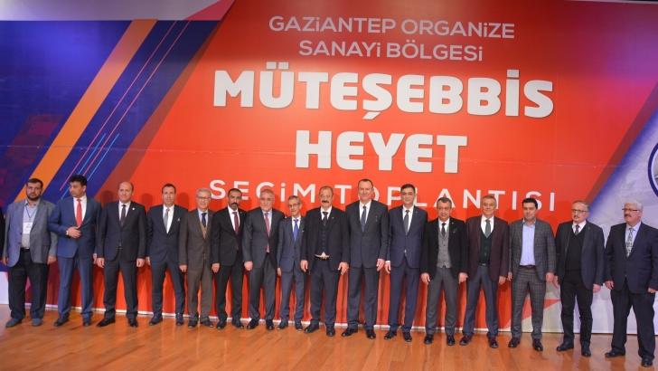 OSB'nin yeni başkanı Cengiz Şimşek oldu
