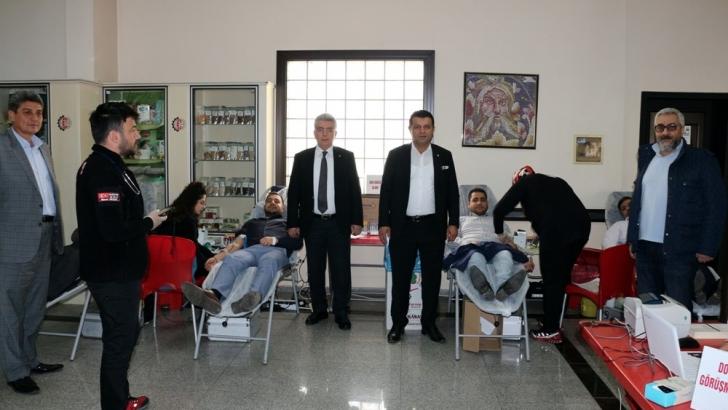 NTO'da kan bağışı