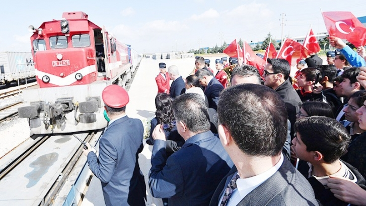 Sosyal Kooperatifçilik ve Tanıtım Treni Gaziantep'te