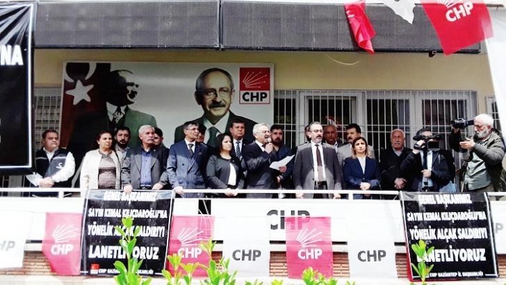 CHP Gaziantep örgütünden kınama