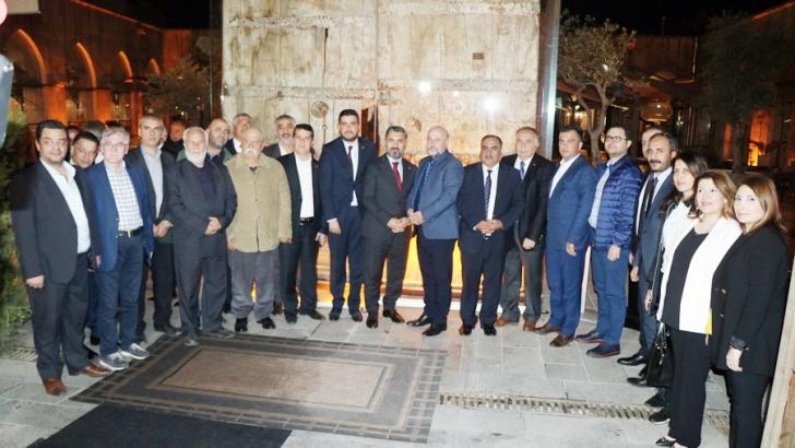RTÜK yöneticileri Gaziantep basını ile buluştu