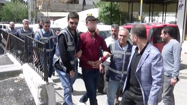 Polisi yaralayan şahıslar yakalandı