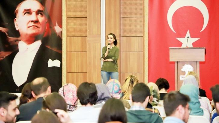 'Öğrencilerde azim ve motivasyon' semineri