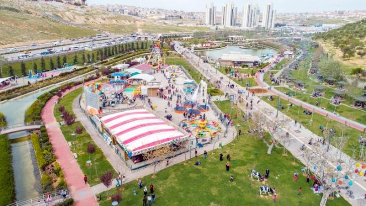 Şahinbey 607 parkıyla yaza hazır