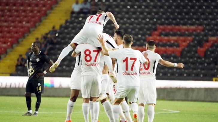 AVANTAJ GAZİŞEHİR'DE: 2-0