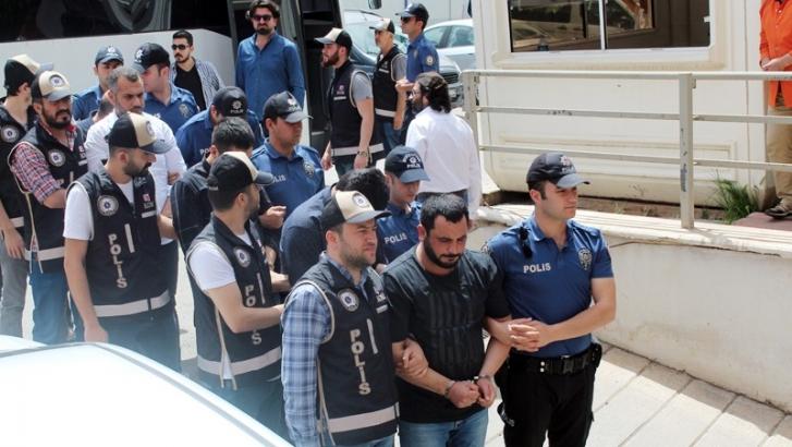 Suç örgütüne operasyon: 16 gözaltı