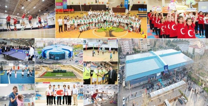 Şehitkamil'in tesisleri, sporun hizmetinde