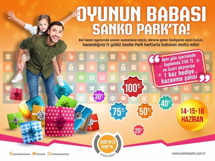 SANKO Park'ta babalar gününe özel etkinlikler