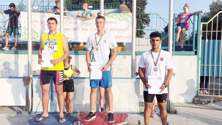 Gaziantepli sporcu Ukrayna'da üçüncü oldu
