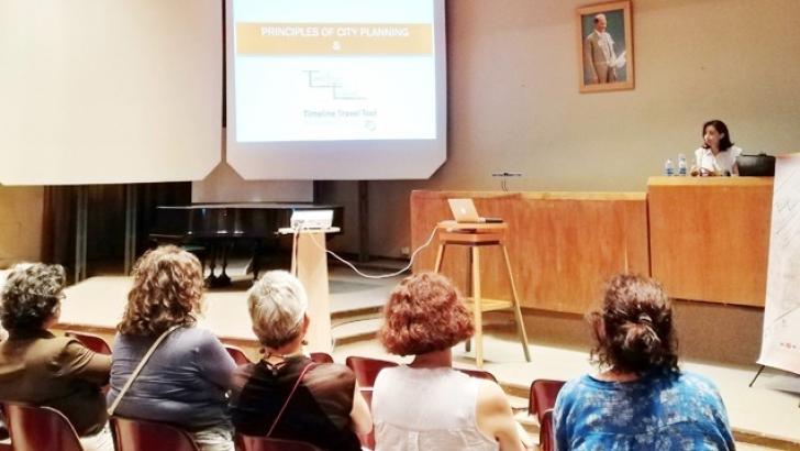 GAÜN, İTÜ'de proje tanıttı