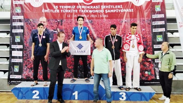 ŞAHİNBEY'Lİ SPORCU GAZİANTEP'İN GURURU OLDU