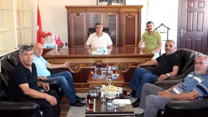 NTO Meclis Başkanı Karabacak'a hayırlı olsun ziyaretleri