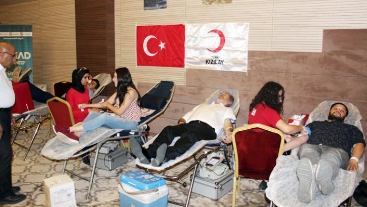 MÜSİAD'dan kan bağışı